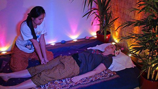 Eine Traditionelle Thai Massage